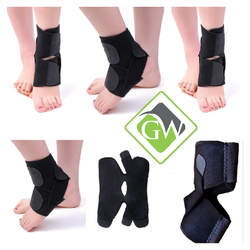 Adjustable Ankle Support Brace Cap Wrap Pad for Men and Women