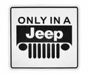 Jti Only In a Jeep 3D Metal Emblem Badge Decal (Set Of 5)