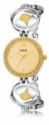 Lorem Women Diamond Bracelet Watch, For Personal Use, Model Name/Number: LR258
