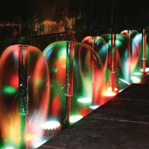 Outdoor Bell Jet Fountain