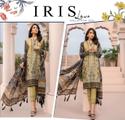 Pure Lawn Pakistani Salwar Suits with Embroidery Patches