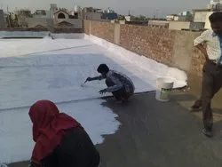 Liquid Residential Terrace Waterproofing, in delhi ncr, Thickness: 600 Micron
