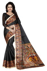 Women's Kalamkari Saree With Blouse Piece