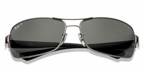 000af57bde RB3379 Large Gunmetal Black Green 004 58 Sunglasses