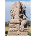 Sandstone Ganesha Statute