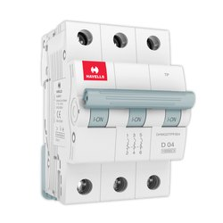Electric 0.5 A To 63 A Havells MCB, 50hz, Wall Mounting