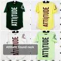 Attitude Round Neck Mens T Shirts