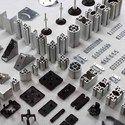 Square And T-profile 45x45 Aluminium Profiles