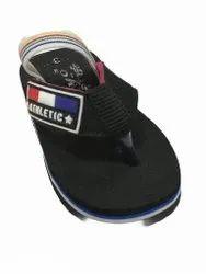 Yoyo Black Kids Slippers, 3 - 10