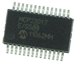 MCP23017 IC - 16-Bit Input/Output Expander With I2C Interface IC for Electronics