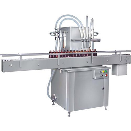 Stainless Steel Automatic Four Head Liquid Filling Machine