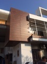 Outdoor HPL Cladding Work