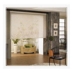 White Pvc Horizontal Window Blinds, for Home, Office Etc