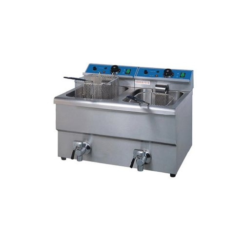 ABC Stainless Steel 2 Tank Fryer