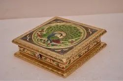 Golden Square Dry Fruits Boxes