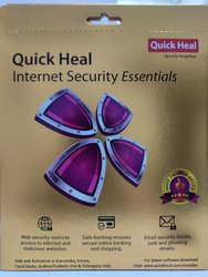 For Home Personal Quick Heal Internet Security Essential 2017 To 2019 Windows Operating System Rs 380 Piece Id 21307614130