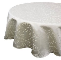 Hotel Damask Table Cover