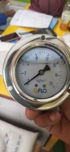 Dry and Liquid Pressure Gauge