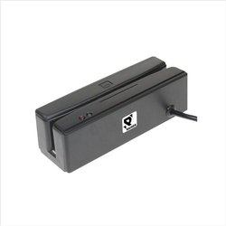 Grey Plastic Magnetic Card Reader