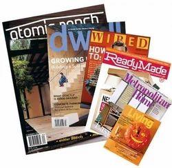 Printed & Plain Multicolor Magazine Printing, in Pan India, Print Size: Standard