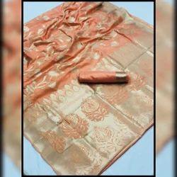 Silk Saree, Length: 6.3 m
