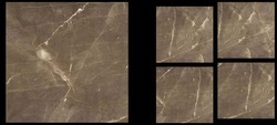 Antica Bronz Polished Glazed Vitrified Tile