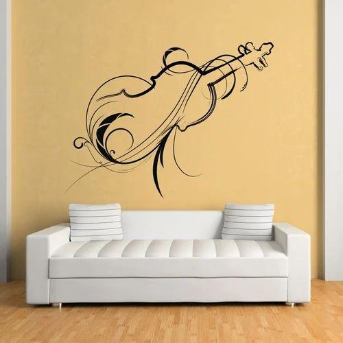 fancy wall sticker at rs 70 /sqft | wall stickers | id: 14367140488