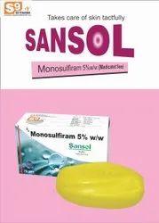 Monosulfiram 5 %W/w Soap