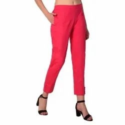 Pink Ladies Formal Cigarette Pants