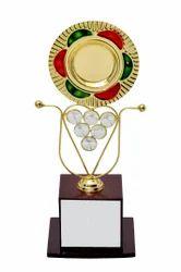 Round Brass Trophy