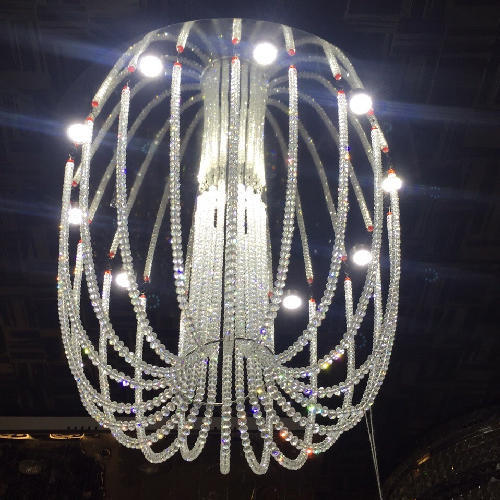 Glass Decorative Chandelier