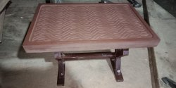 Wooden Standard Height Dining Table, for Restaurant