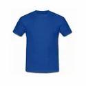 Mens Round Neck Cotton T Shirt