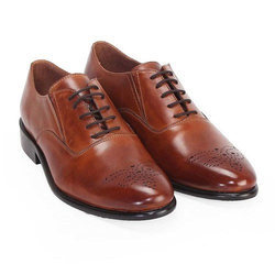 Brown Leather Formal Shoes