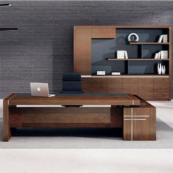 Office Workstation Wooden Office Furniture Manufacturer From Vasai