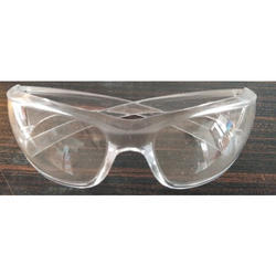 Unisex Polycarbonate Safety Goggles, Packaging Type: Box