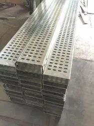 MS Fabricated Perforated Cable Trays