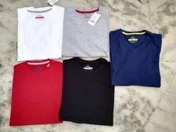 Cotton Plain Mens Round Neck T Shirt