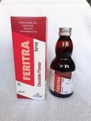 Ferrous Ascorbate, zinc, Pyridoxine HCL, Folic Acid & Cynocobalamine Syrup
