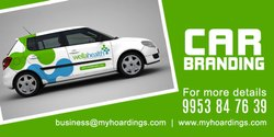 Car Door Wrap Advertisement in Delhi Mumbai Chennai Kolkata