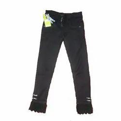 Denim Ladies Black Jeans, 26-32, Machine Wash