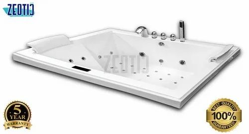 Apollo (Italy) Zeotic Lucite Cast Vova Jacuzzi Acrylic Hydromassage Bathtub