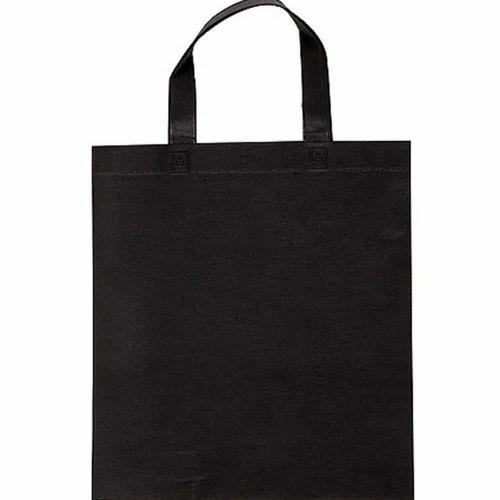 1d9360533604 Black Reusable Non Woven Bag