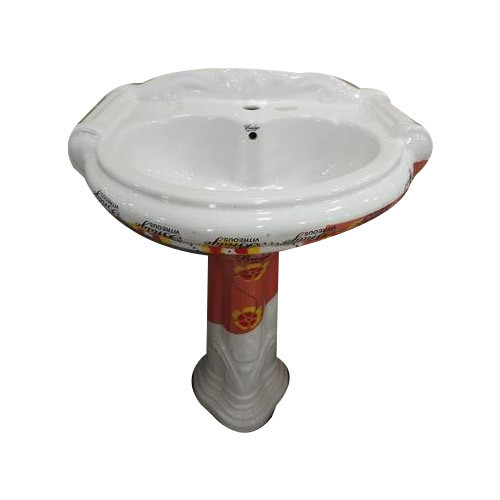 Mini Sterling Pedestal Wash Basin