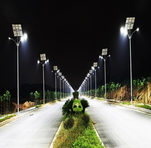 High Power Solar Street Light Power 50 To 250w Rs 20000