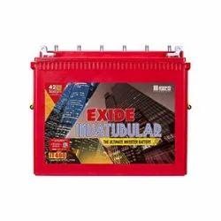 IT400 Exide Invatubular Battery, Capacity: 115 Ah, Warranty: 54 Months