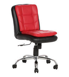 Workstation Black and Red Chair