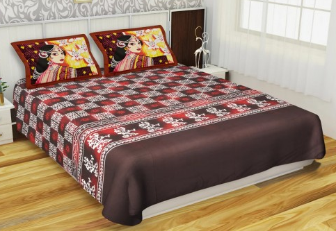 Kurl On Art Of India BS2506 Bed Sheet