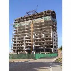 Concrete Frame Structures Marble Office Building Construction Services