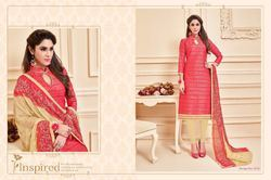 Unstitched Stylish Chudidar Salwar Kameez